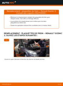 Comment effectuer un remplacement de Plaquettes de Frein sur 1.9 dCi Renault Scenic 2
