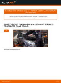 Come effettuare una sostituzione di Cinghia Poly-V su RENAULT ? Dai un'occhiata alla nostra guida dettagliata e scopri come farlo