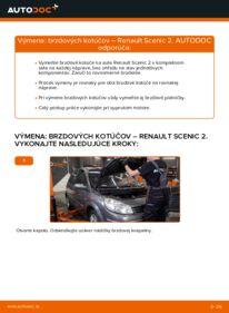 Ako vykonať výmenu: Brzdový kotouč na 1.9 dCi Renault Scenic 2