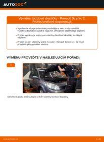 Jak provést výměnu: Brzdové Destičky na 1.9 dCi Renault Scenic 2
