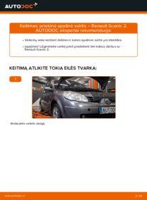 Kaip atlikti keitimą: 1.9 dCi Renault Scenic 2 Vikšro Valdymo Svirtis