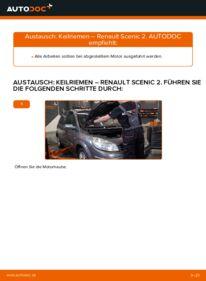 Wie der Wechsel durchführt wird: Keilrippenriemen 1.9 dCi Renault Scenic 2 tauschen
