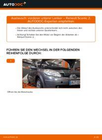 Wie der Wechsel durchführt wird: Querlenker Renault Scenic 2 1.9 dCi 1.5 dCi 1.6 tauschen