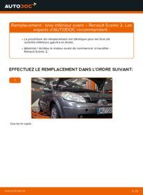 Comment effectuer un remplacement de Bras de Suspension sur 1.9 dCi Renault Scenic 2