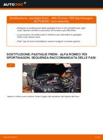 Come effettuare una sostituzione di Pastiglie Freno su ALFA ROMEO ? Dai un'occhiata alla nostra guida dettagliata e scopri come farlo