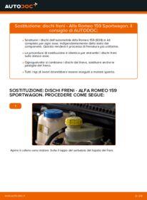 Come effettuare una sostituzione di Dischi Freno su ALFA ROMEO ? Dai un'occhiata alla nostra guida dettagliata e scopri come farlo