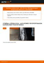 Doporučení od automechaniků k výměně ALFA ROMEO Alfa Romeo 159 Sportwagon 2.4 JTDM Kabinovy filtr