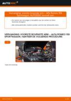 Remtang vervangen van de ALFA ROMEO 159 Sportwagon (939) - advies en uitleg