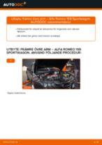 Upptäck vår detaljerade handledning om hur du felsöker ALFA ROMEO Bärarm vänster och höger problemet