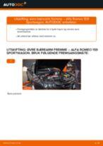 Hvordan bytte og justere Hovedlykter ALFA ROMEO 159: pdf håndbøker