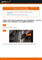 TOYOTA LAND CRUISER (KDJ12_, GRJ12_) Javítókészlet Féknyereg beszerelése - lépésről-lépésre útmutató