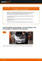 PDF manuale di sostituzione: Kit dischi freno TOYOTA LAND CRUISER (KDJ12_, GRJ12_) posteriore e anteriore