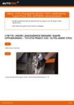 Steg-för-steg-guide i PDF om att byta Lambdasond i TOYOTA LAND CRUISER (KDJ12_, GRJ12_)