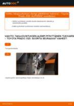 Automekaanikon suositukset TOYOTA Toyota Prado J120 4.0 -auton Öljynsuodatin-osien vaihdosta