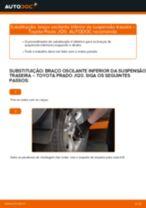 Tutorial de reparo e manutenção Toyota Prado J120
