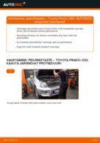 Toyota Land Cruiser 60 töökoja käsiraamat