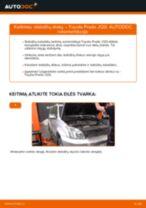 Toyota Land Cruiser 80 remonto ir priežiūros instrukcija