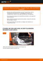 Hilfreiche Fahrzeug-Reparaturanweisung für hinten und vorne Scheibenwischergestänge TOYOTA