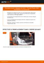 Comment changer : disques de frein arrière sur Toyota Prado J120 - Guide de remplacement