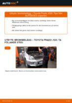 Bilmekanikers rekommendationer om att byta TOYOTA Toyota Prado J120 4.0 Stabilisatorstag