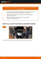 Le raccomandazioni dei meccanici delle auto sulla sostituzione di Dischi Freno TOYOTA Toyota RAV4 III 2.0 4WD (ACA30_)