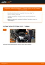 Toyota Rav4 xa1 online vadovas
