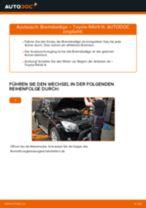 Nützliche Fahrzeug-Reparaturanleitung für Keramik Bremsbelagsatz Scheibenbremse TOYOTA