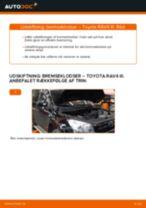 Skift Bremseklods TOYOTA RAV4: pdf gratis