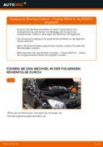 Motorlager wechseln TOYOTA RAV4: Werkstatthandbuch