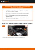 Comment changer : disques de frein avant sur Toyota RAV4 III - Guide de remplacement