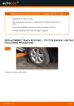 Auto mechanic's recommendations on replacing TOYOTA Toyota Rav4 II 2.0 4WD (ACA21, ACA20) Anti Roll Bar Links