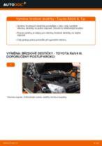 Výměna Brzdové Destičky TOYOTA RAV4: zdarma pdf