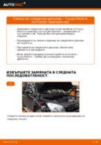 Препоръки от майстори за смяната на TOYOTA Toyota RAV4 III 2.0 4WD (ACA30_) Спирачен диск