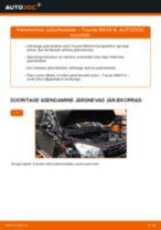 DIY käsiraamat Kütusefilter asendamiseks AUDI 80 1995