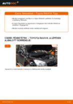 TOYOTA RAV4 Motortartó gumibak cseréje : ingyenes pdf