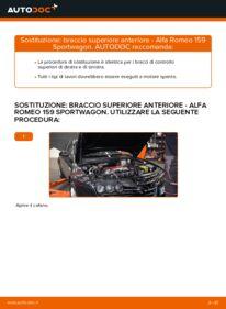 Come effettuare una sostituzione di Braccio Oscillante su ALFA ROMEO ? Dai un'occhiata alla nostra guida dettagliata e scopri come farlo