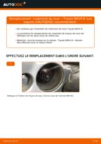 Comment changer : roulement de roue avant sur Toyota RAV4 III - Guide de remplacement