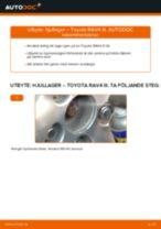 Byta Hjullager bak och fram Toyota Land Cruiser J7: guide pdf