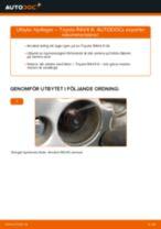 Manuell PDF för RAV4 underhåll