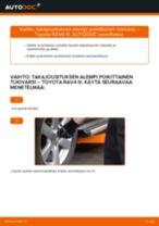 TOYOTA RAV4 Tukivarsi vaihto: ilmainen pdf