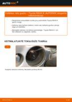 Kaip pakeisti Toyota RAV4 III rato guolio: priekis - keitimo instrukcija