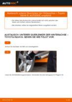 Auswechseln Heckleuchten Glühlampe TOYOTA RAV4: PDF kostenlos