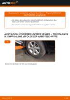 Montage Lagerung Radlagergehäuse TOYOTA RAV 4 III (ACA3_, ACE_, ALA3_, GSA3_, ZSA3_) - Schritt für Schritt Anleitung