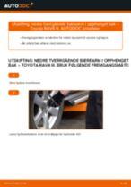 Gratis instruksjoner på nett for bytte Bærebro TOYOTA RAV 4 III (ACA3_, ACE_, ALA3_, GSA3_, ZSA3_)