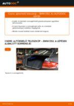 Ajtóemelő teleszkóp-csere BMW E92 gépkocsin – Útmutató