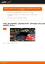 Automehāniķu ieteikumi BMW BMW E90 320i 2.0 Savienotājstienis nomaiņai
