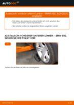Anleitung: BMW E92 vorderer unterer Lenker wechseln