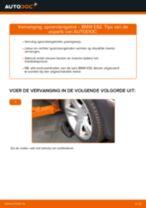 Zelf Spoorstangkogel vervangen BMW - online handleidingen pdf