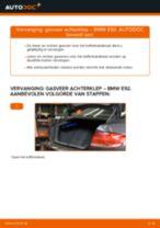 Hoe gasveer achterklep vervangen bij een BMW E92 – Leidraad voor bij het vervangen