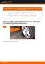 Changement Bras de Suspension BMW 3 SERIES : manuel d'atelier